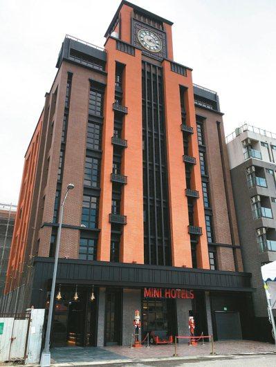 新型設計旅店崛起,已對傳統旅社構成壓力。 報系資料照