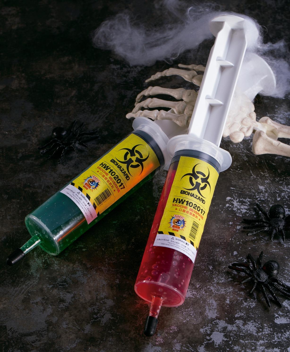 口服疫苗飲料。