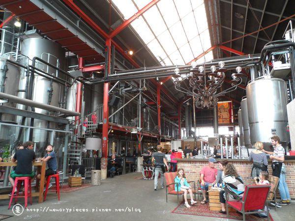 小天使啤酒廠建築也很有風格。