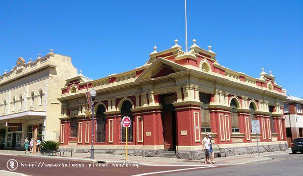 費里曼圖的街道擁有美麗的歷史建築。