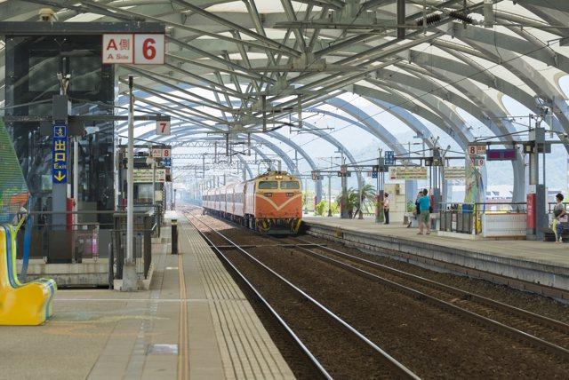 冬山車站。