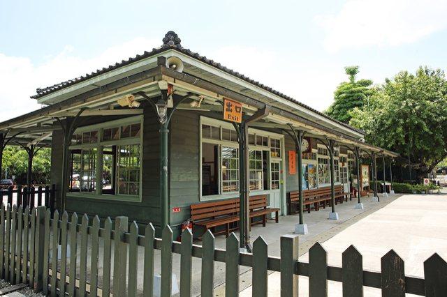 北門車站。