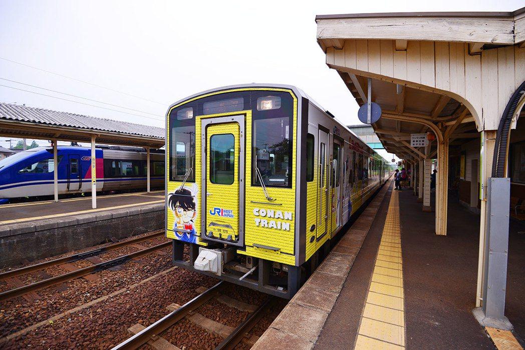 06柯南主題列車超酷