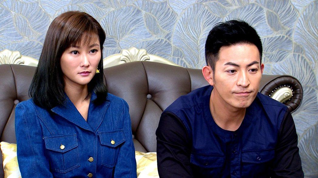 陳珮騏(左)和趙駿亞在「一家人」中戲份精彩  圖/三立提供