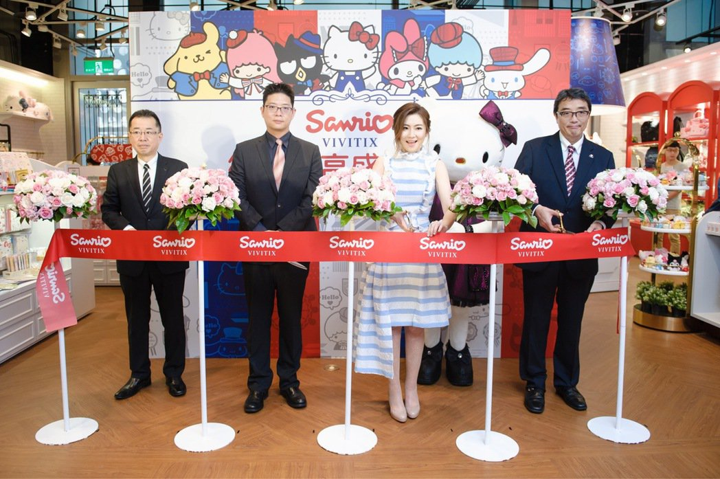 Selina 5日出席品牌一日店長活動。圖/強力整合行銷提供