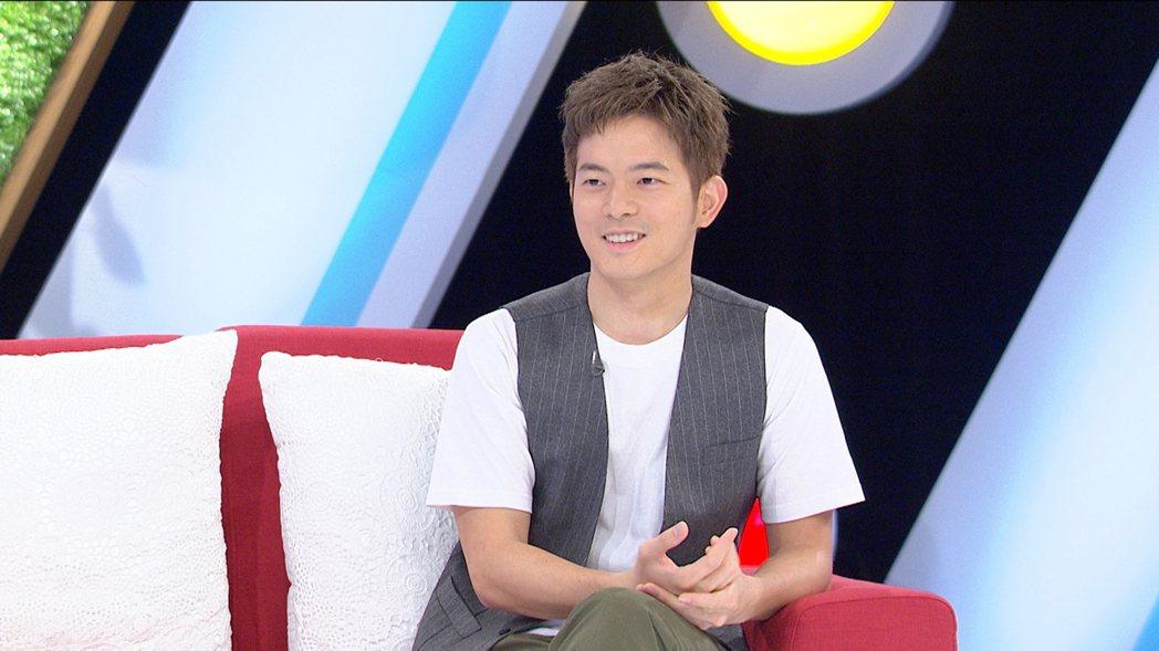 宥勝上壹電視「我是救星」接受專訪。圖/壹電視提供