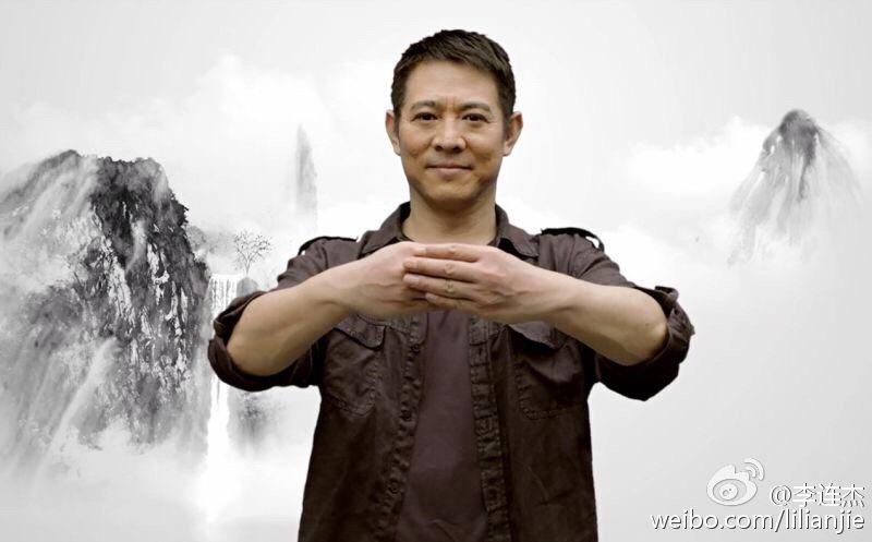李連杰一直努力在全球推廣中國功夫。圖/摘自微博