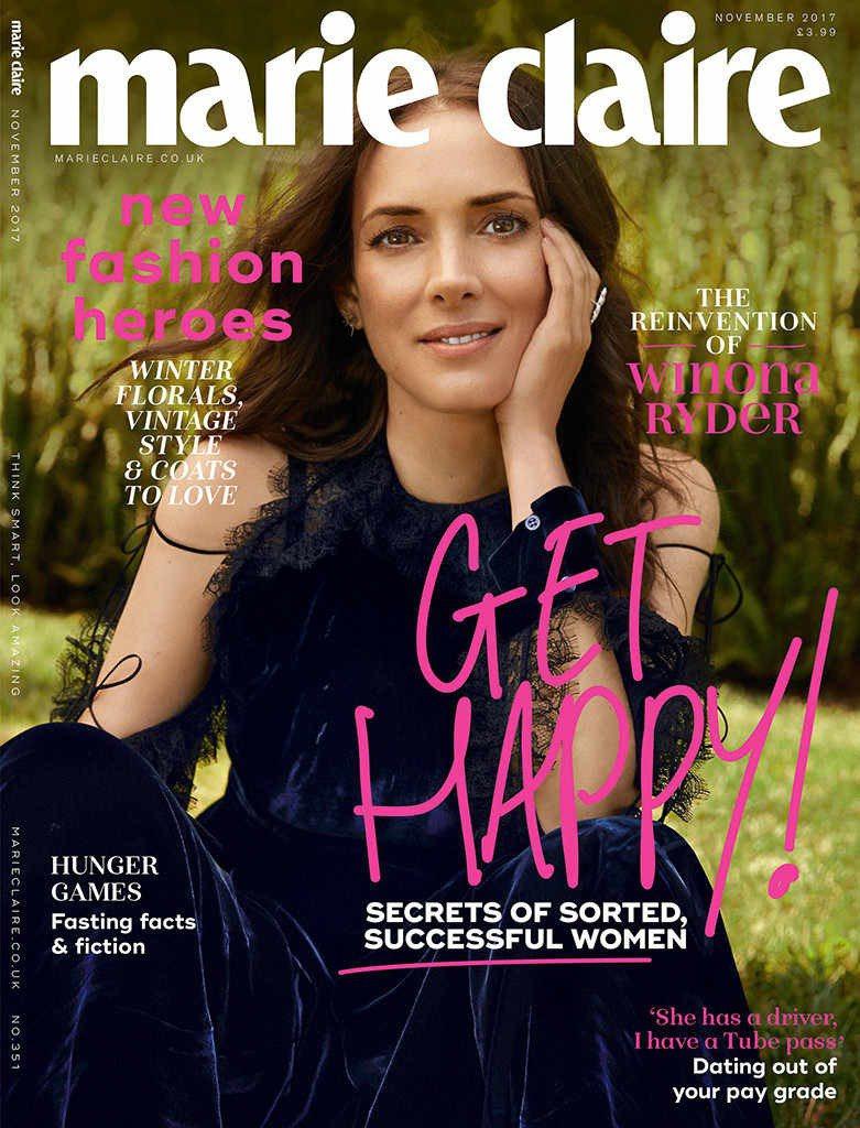 薇諾娜瑞德再度翻紅,登上雜誌封面。圖/摘自Instagram