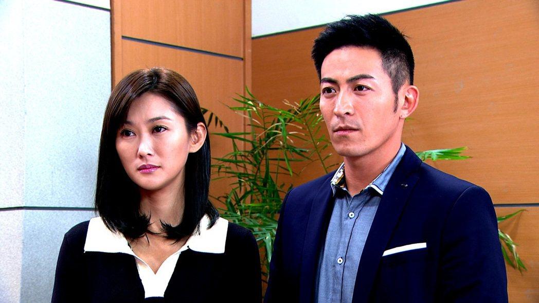 陳珮騏(左)和趙駿亞在「一家人」中戲份精彩。圖/三立提供