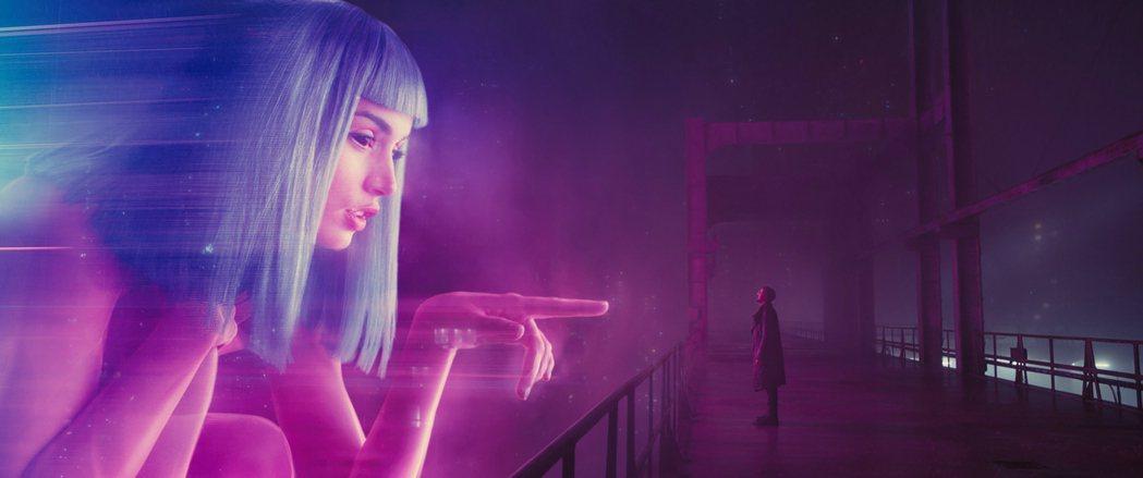 「銀翼殺手2049」特效場面極氣派炫目。圖/索尼提供
