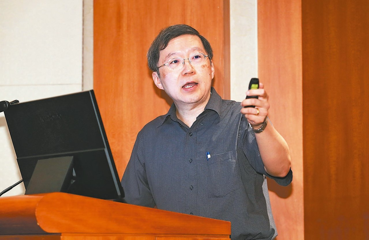 中研院院士王平。 記者許正宏╱攝影