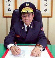 彰化縣消防局長李永福曾擔任彰化警察分局分局長。 圖/翻攝自消防局網站