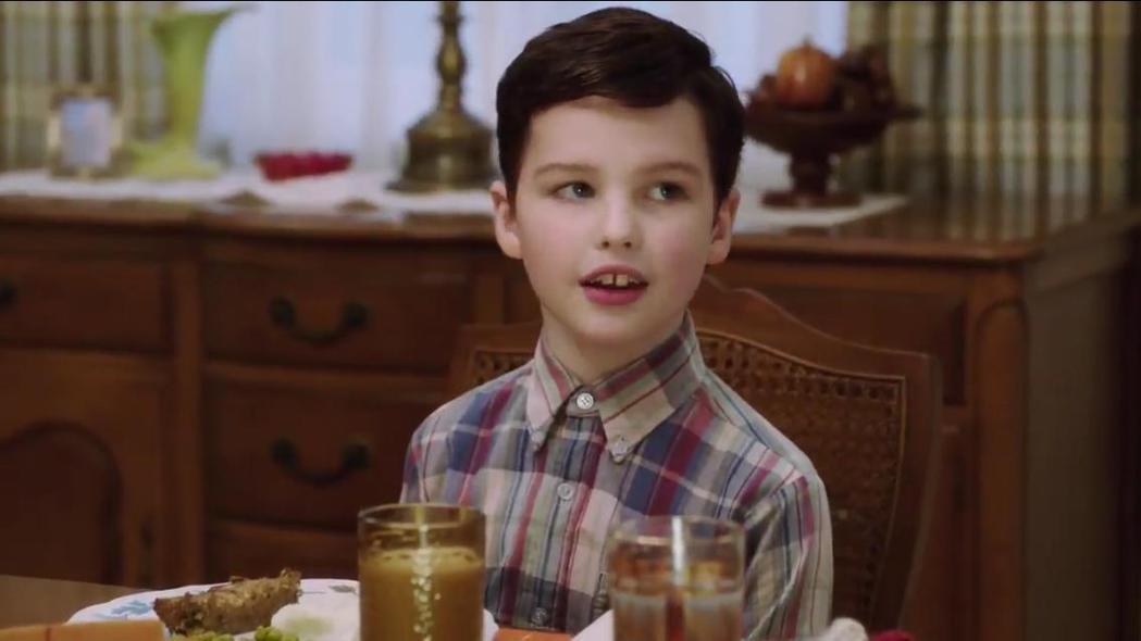 「宅男行不行」番外篇「Young Sheldon」,首集果如預期締造極佳收視。圖...