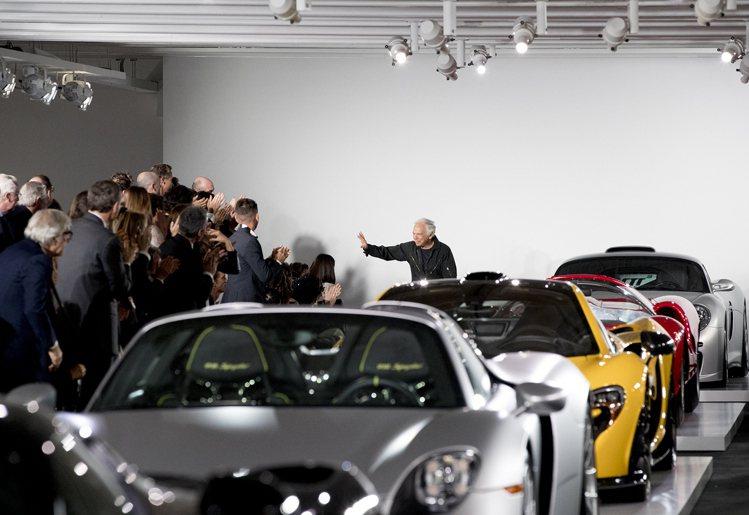 Ralph Lauren在紐約貝德福德的私人車庫發表新款設計。圖/Ralph L...