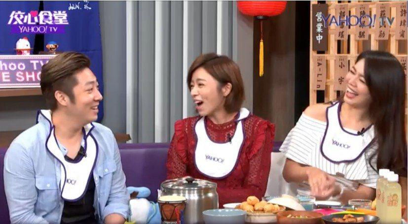 艾成對王瞳的吻戲其實不介意。圖/YahooTV提供