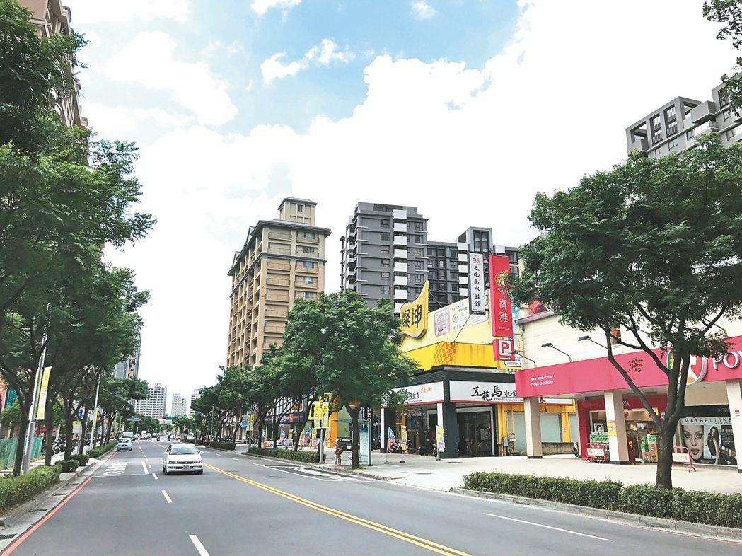 淡海新市鎮易量呈現走揚趨勢。 記者游智文/攝影