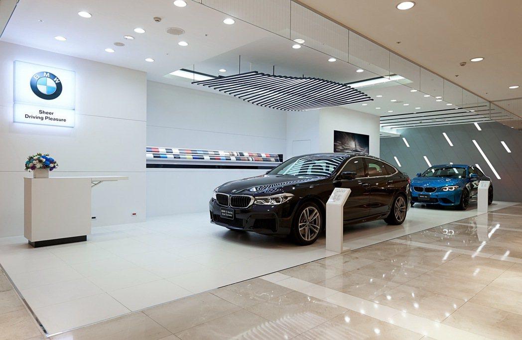 創造嶄新客戶體驗,全台首座BMW品牌形象館 台南正式開幕。 圖/汎德提供