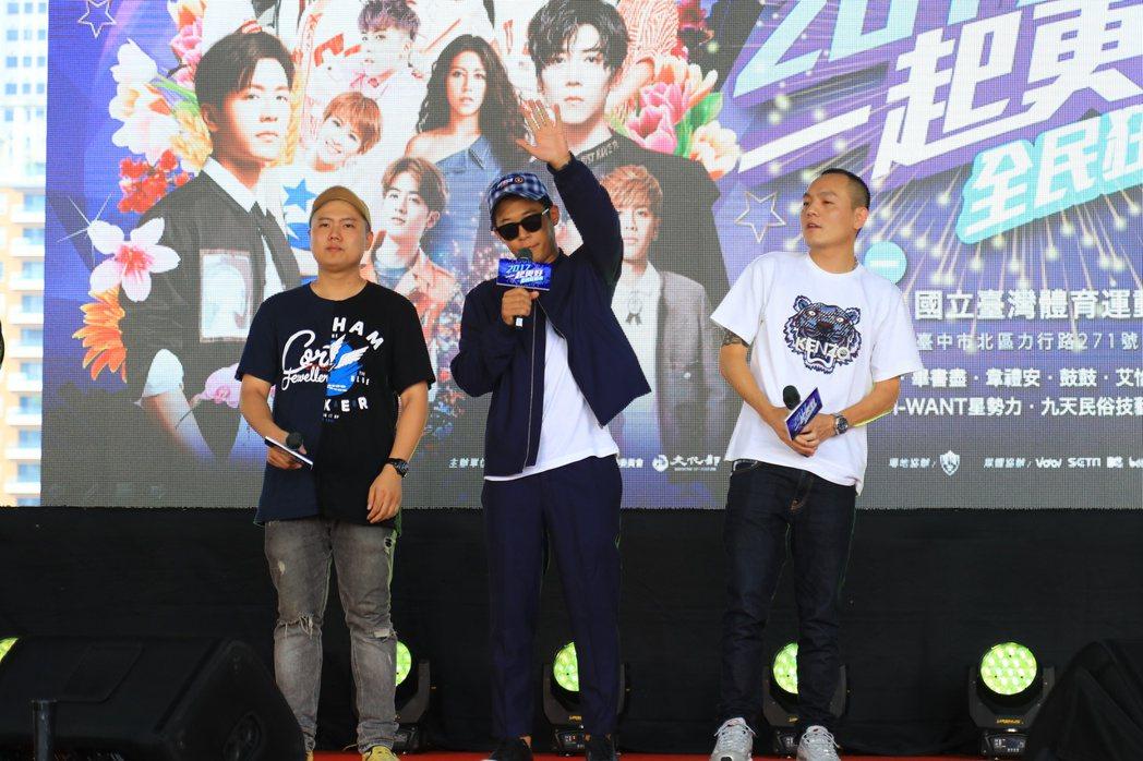 台中發跡的樂團「玖壹壹」,今年國慶晚會扛壓軸。 圖/台中市新聞局提供