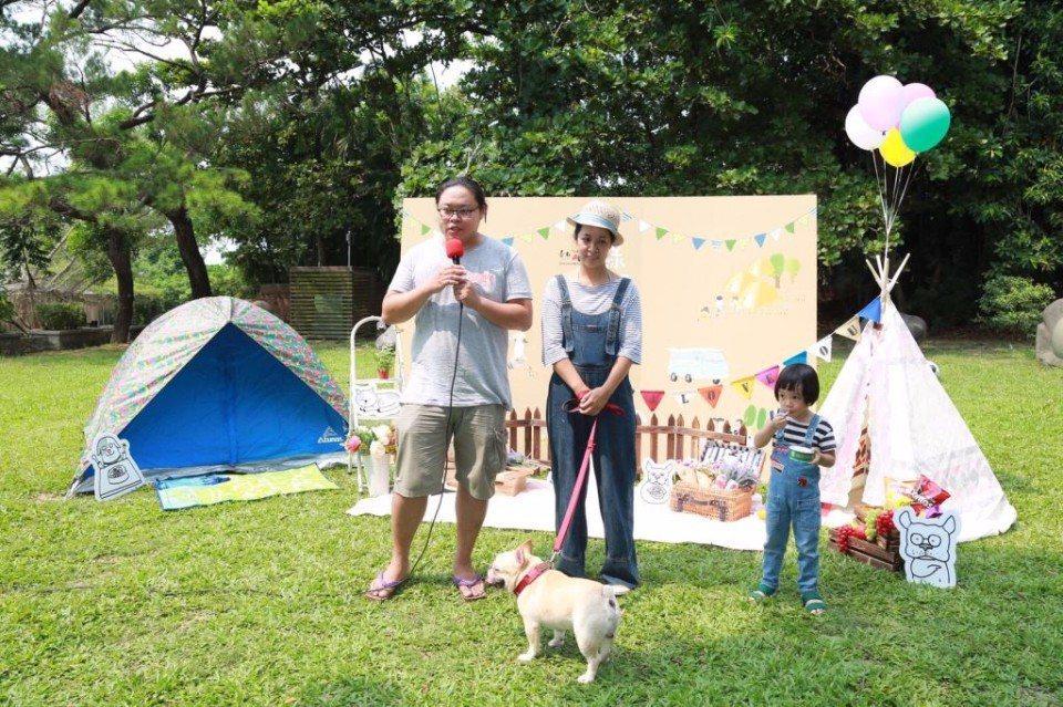 小滿食堂也來參與「綠野好時光毛孩來野餐」活動。(圖片提供/台南市政府觀光旅遊局)