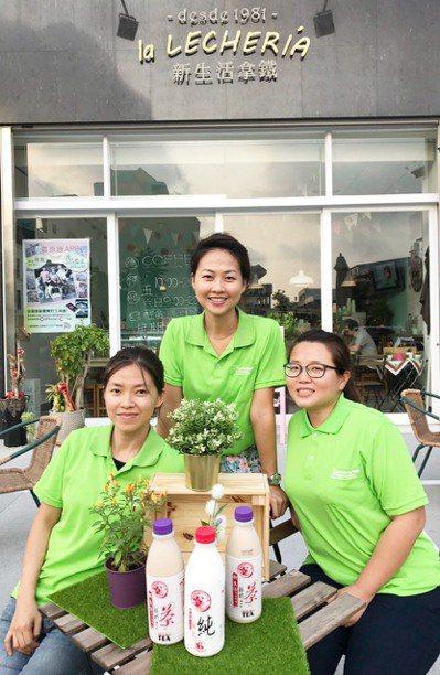靳家三姐妹,大姐靳蓓琳(中)、二姐靳瑋琳(左)和小妹靳嘉琳(右),各自發揮才能,...