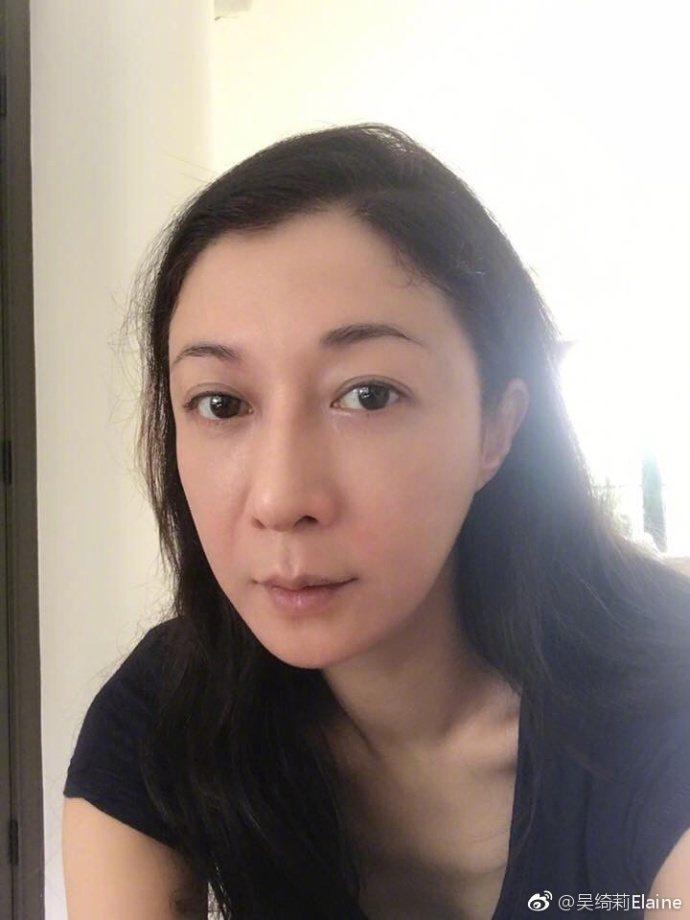 吳綺莉已經3個月未見吳卓林。圖/摘自微博