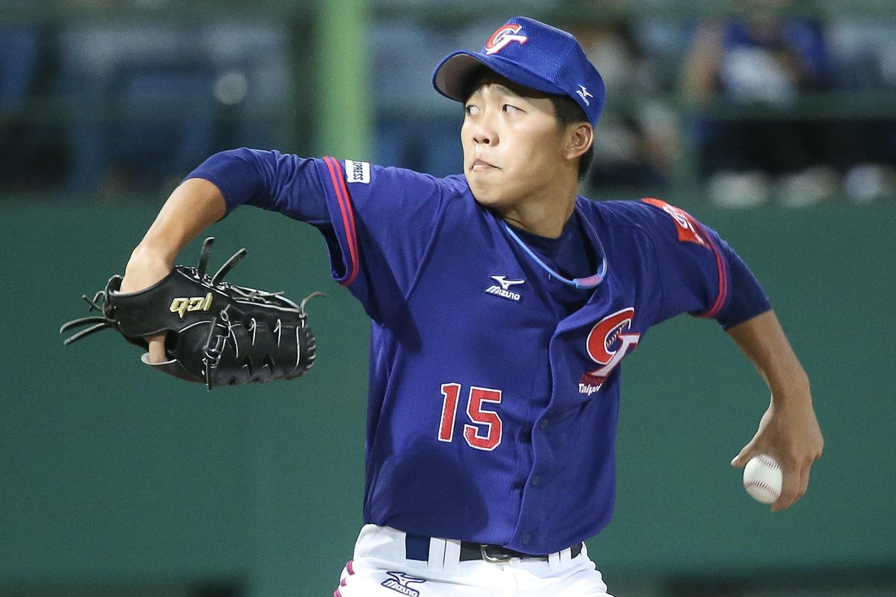 呂彥青是近年中華隊常客,也是業餘第一左投,據傳已被日職阪神虎鎖定。 聯合報系資料...