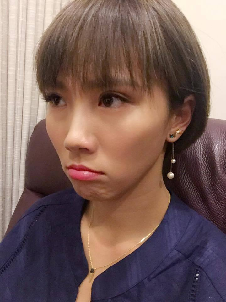 大牙演出「一家人」台語卡詞狂吃NG,結果當場被攝影師酸。圖/摘自大牙臉書