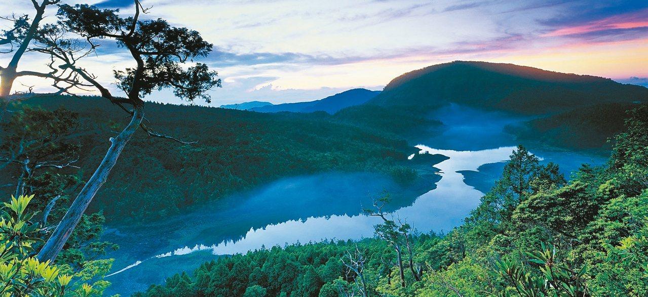 太平山翠峰湖。 農委會林務局/提供