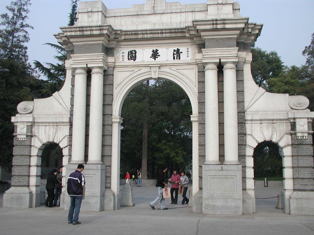 北京清華大學年度預算超過一千億台幣,是台大的六倍。圖為已成歷史景點的清華園。 本...