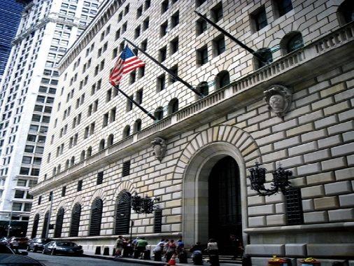 美聯邦儲備銀行紐約分行(擷取自美聯邦儲備銀行紐約分行網站)。圖片來源:審計部