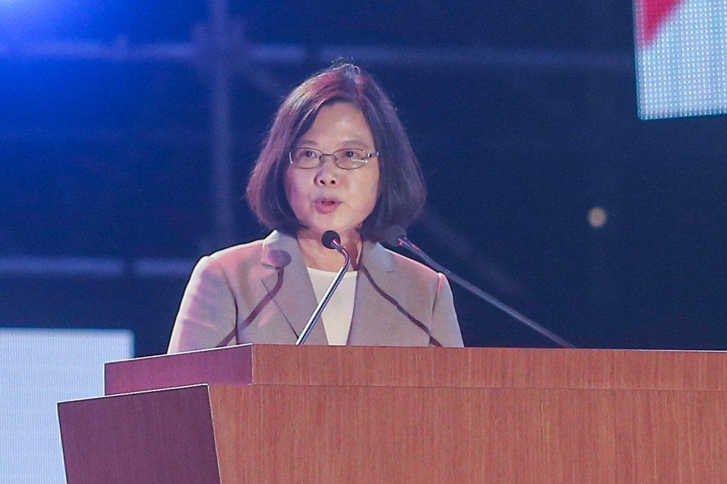 國慶晚會總統致詞 蔡英文:我們是不怕打壓的台灣