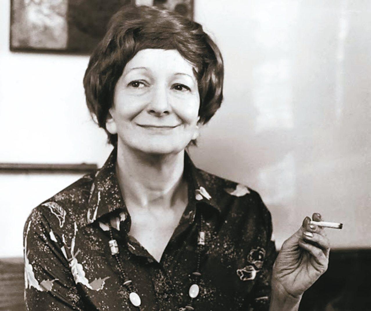 1996年諾貝爾文學獎得主辛波絲卡。 圖/本報資料照片