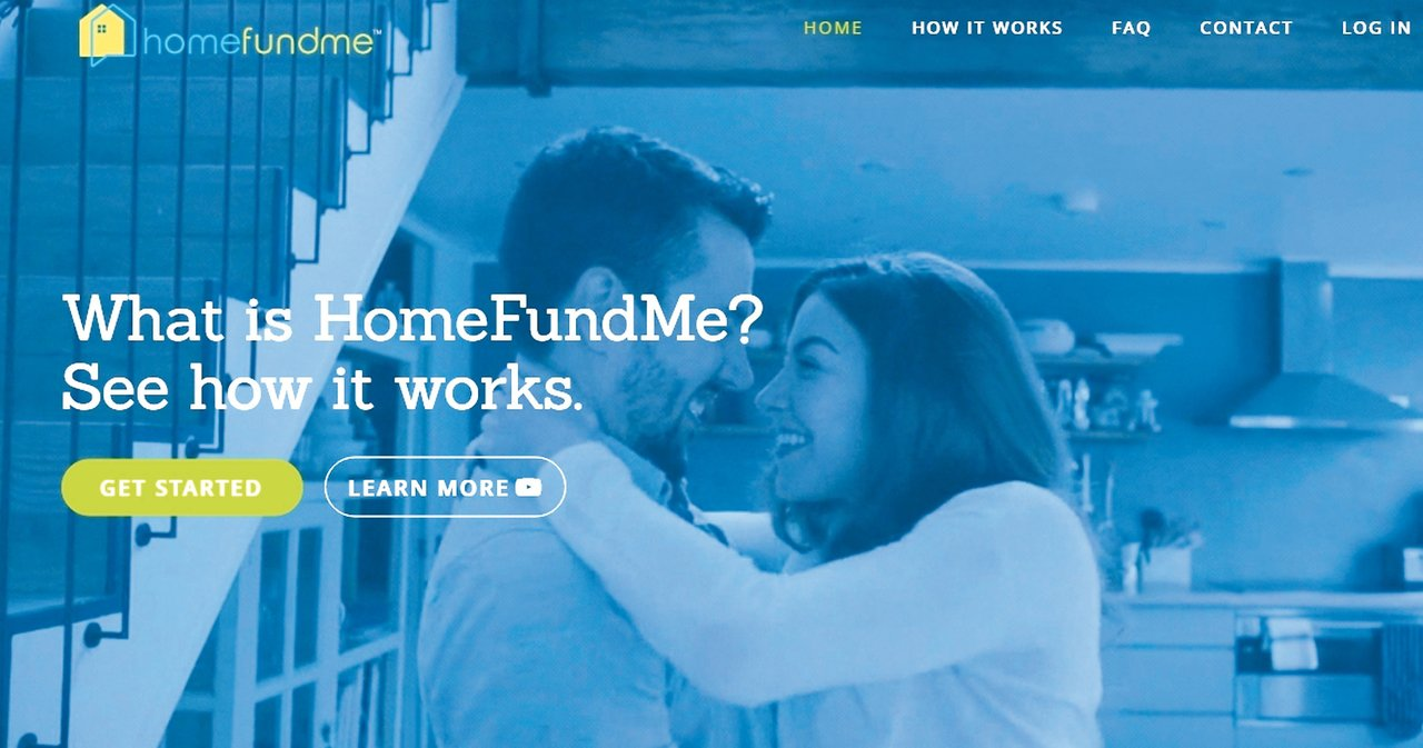 Home Fund Me為鎖定潛在購屋者推出的頭期款募資平台。 圖/取自Home...