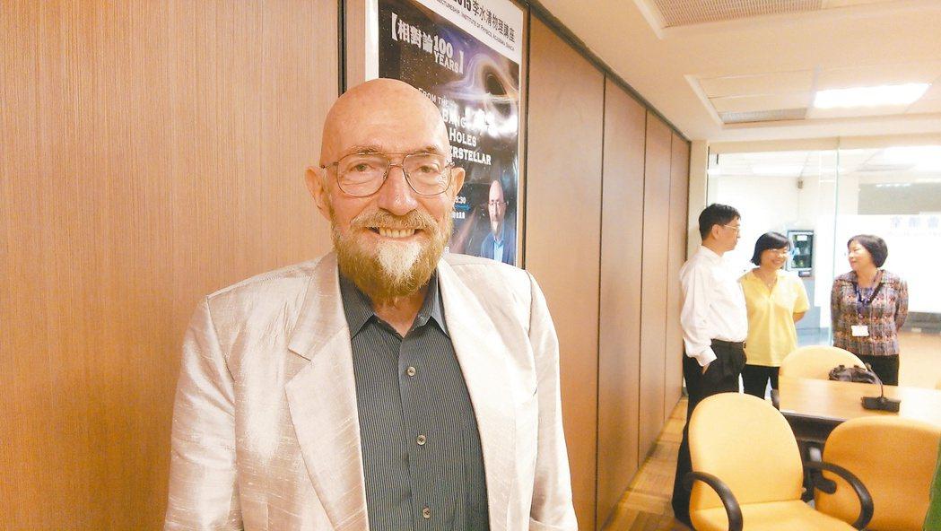 美國加州理工學院天文物理教授索恩因擔任電影「星際效應」首席科學顧問而為大眾所知。...