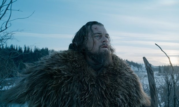 「神鬼獵人」在零下低溫拍攝,李奧納多苦不堪言。圖/Catchplay提供