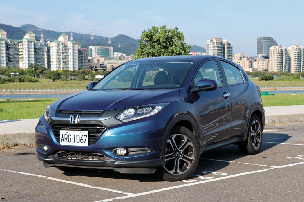 Honda HR-V。 記者陳威任/攝影