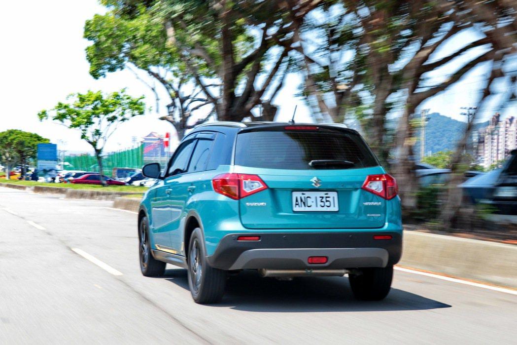 Vitara的性能表現是四台評比車輛之最。 記者陳威任/攝影