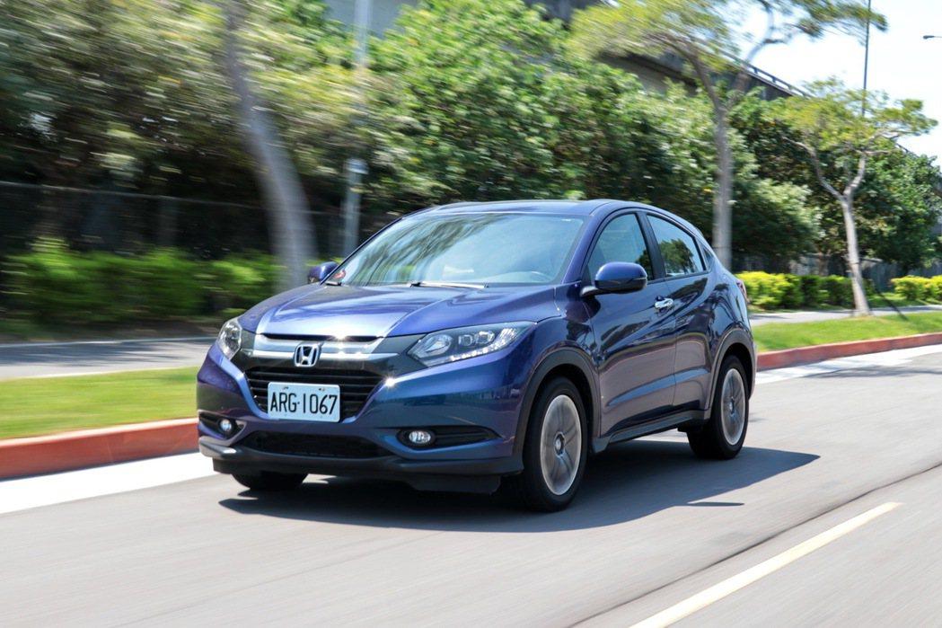 Honda HR-V的動態表現頗有本田一貫風格。 記者陳威任/攝影