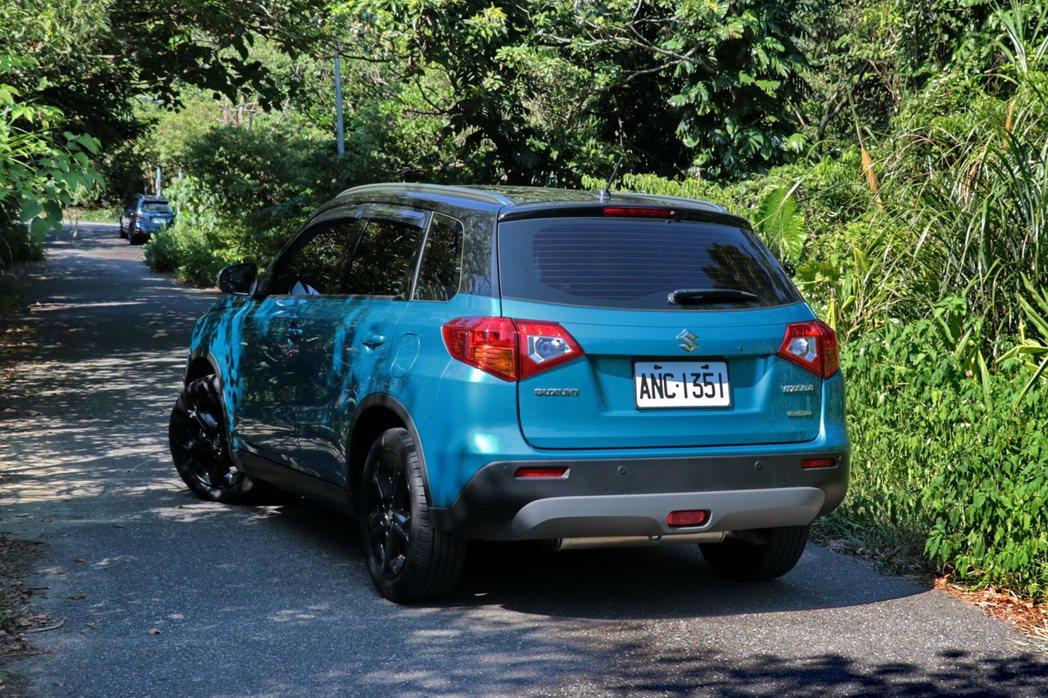 Suzuki Vitara以優異的外型及配備受市場青睞。 記者陳威任/攝影