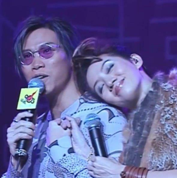 蘇永康(左)與梅艷芳(右)是多年好友。圖/摘自IG