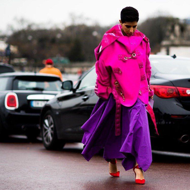 沙國王妃Deena Aljuhani Abdulaziz的時尚風采氣場強大。圖/...