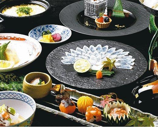春帆樓以河豚料理著名。 圖/翻攝自官網