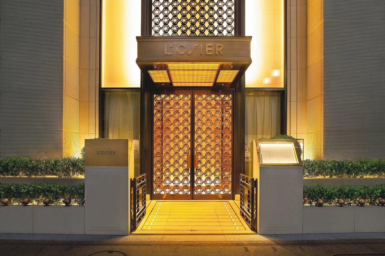 米其林二星L'Osier法式餐廳,在日本品味法式料理。 圖/有行旅提供
