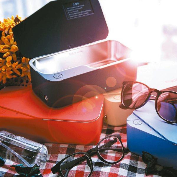 超聲波除垢清「鏡」機,在家輕鬆洗眼鏡。