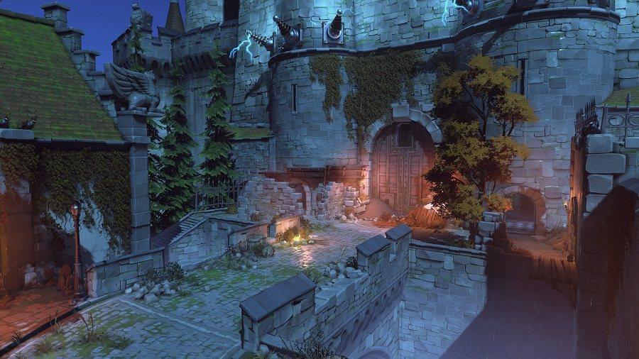 《鬥陣特攻》萬聖節驚魂活動期間,玩家將可探索鬼影幢幢的愛西瓦德。