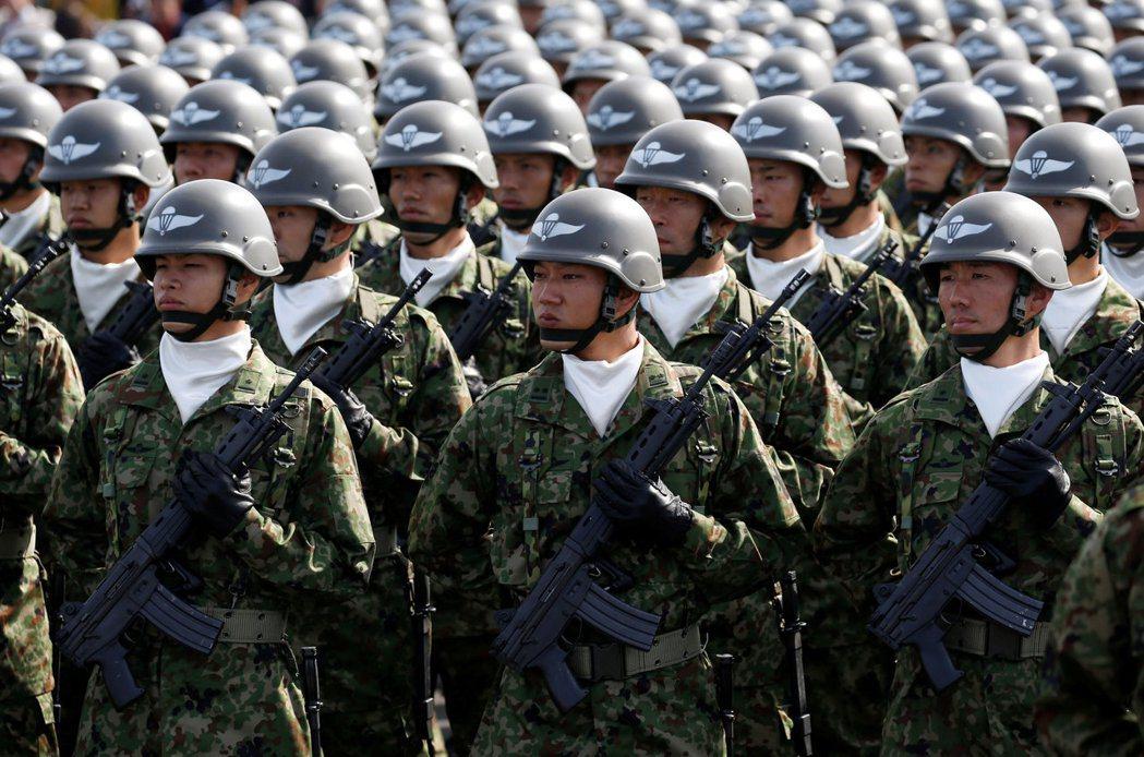 日本要能夠行使自衛權,必須先滿足「新三要件」的規定。 圖/路透社