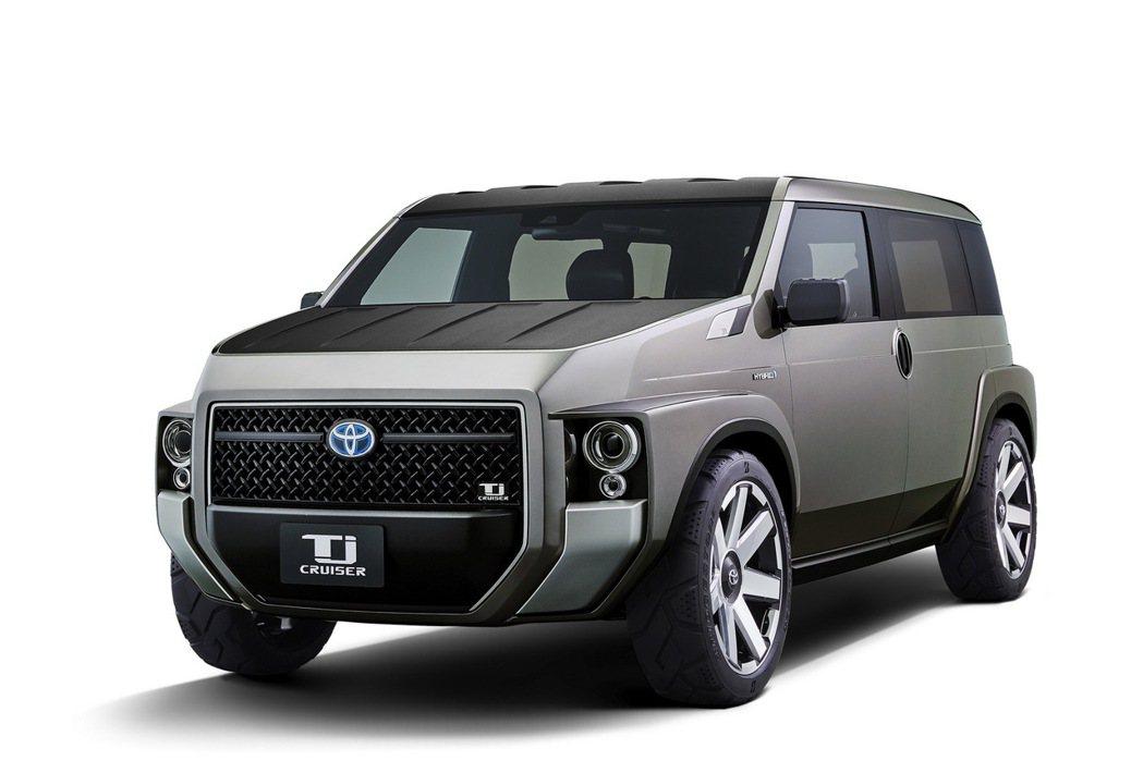 TOYOTA即將於東京車展正式發表概念車Tj Cruiser。圖/TOYOTA提供