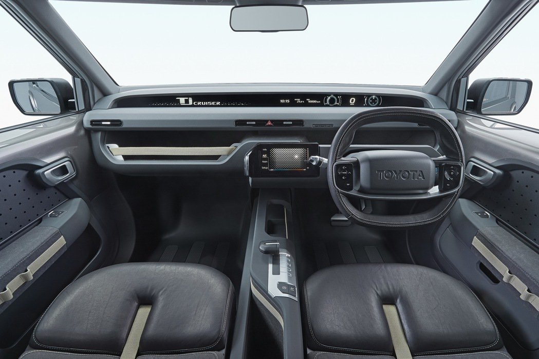 TOYOTA概念車Tj Cruiser擁有細膩的內裝。圖/TOYOTA提供