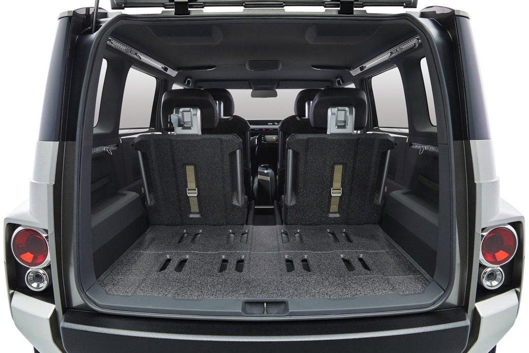 TOYOTA概念車Tj Cruiser椅背使用防刮材質。圖/TOYOTA提供
