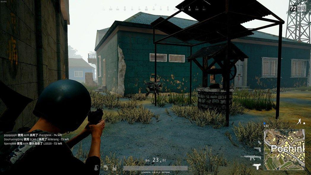 烏茲在近距離的時候,傷害只輸散彈槍